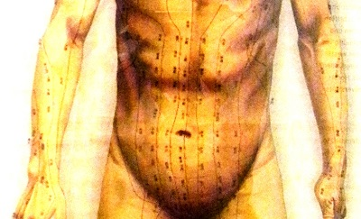 addome gonfio e agopuntura